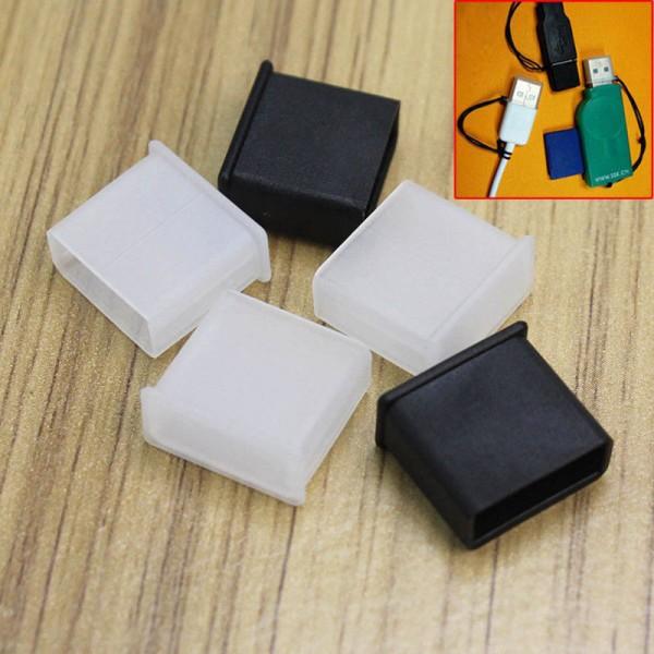 5x Schutz Kappe für USB Stick und Stecker