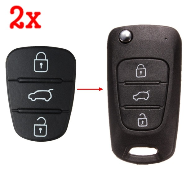 2x Tastenfeld für Hyundai und Kia