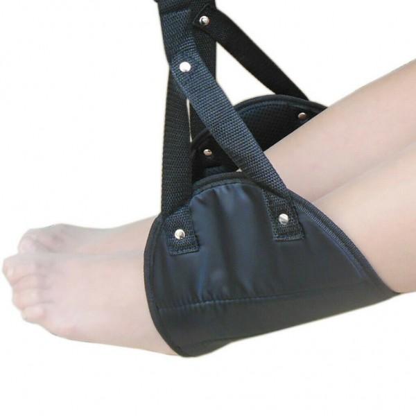 Bequem Aufhänger Reise Flugzeug Hängematte Fuß Fußstütze mit Memory-Schaum