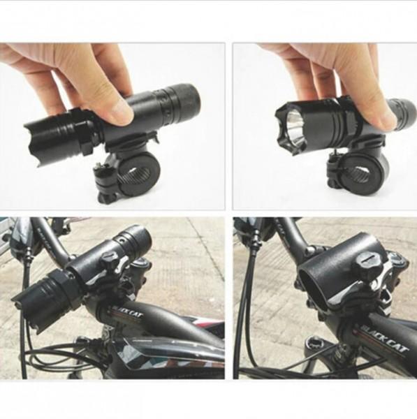 360° Fahrrad Taschenlampe Halterung
