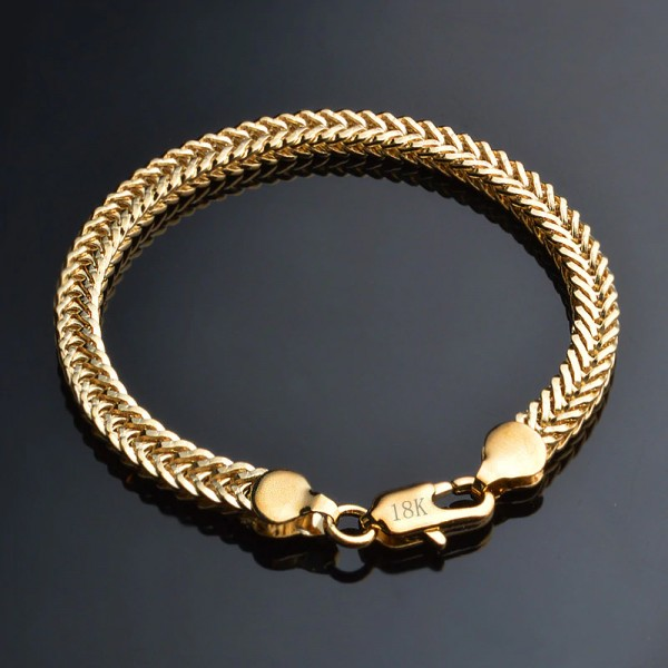 Gold Armband Kette