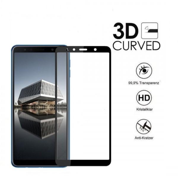Panzerglas für Samsung Galaxy A7 2018 Panzerfolie 9H Displayschutzfolie Folie