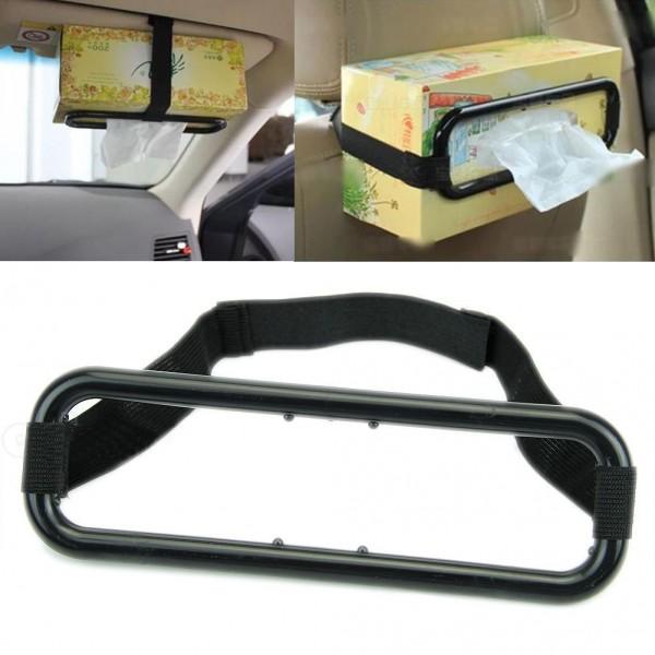 Auto Zubehör Auto Sonnenblende Tissue Box Halter Papierserviette Sitze Zurück Halterung