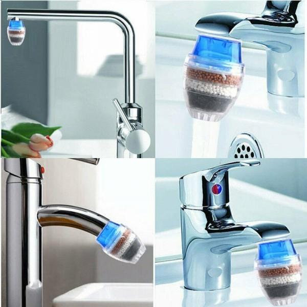 Aktivkohle als Wasserfilter für Wasserhahn