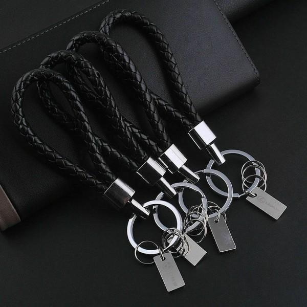 Leder Schlüsselanhänger mit Schlüsselring