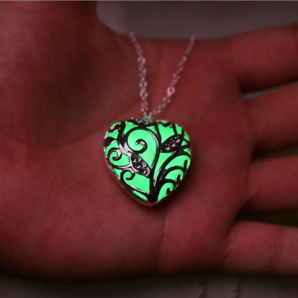 Herz als Halskette in Silber