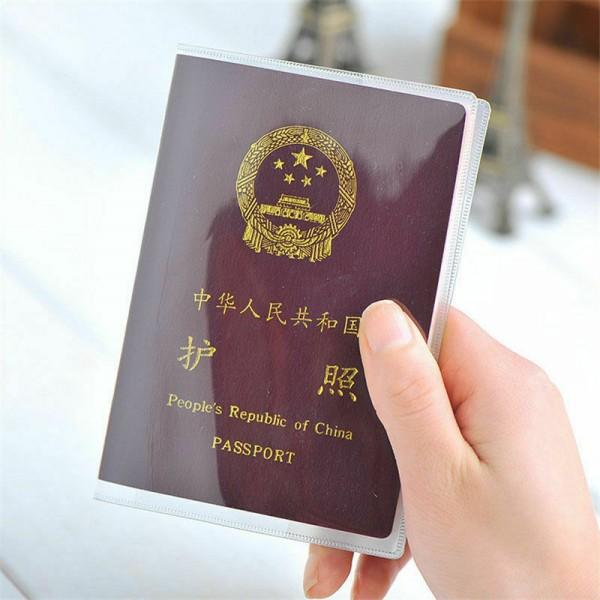 Reisepass Etui Schutzhülle Transparent