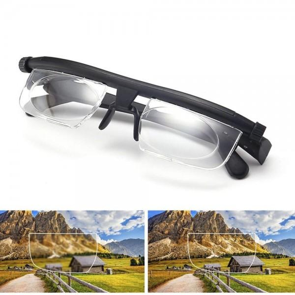 Brille individuell einstellbar (inkl. Tasche)