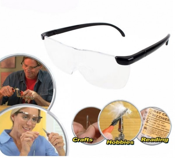 160% Vergrößerungsbrille / Lupenbrille