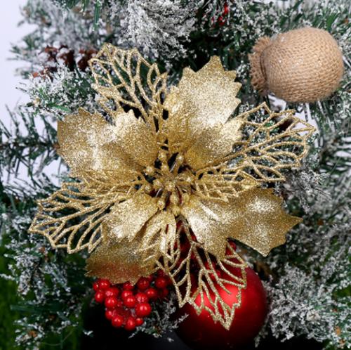 5 Stück Funkeln Blume Baum Hängend Verzierungen Festival Dekor