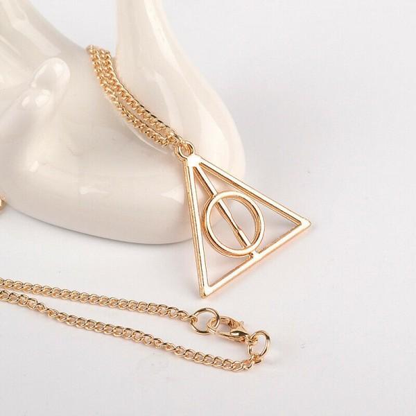 Harry Potter als Dreieck Halskette