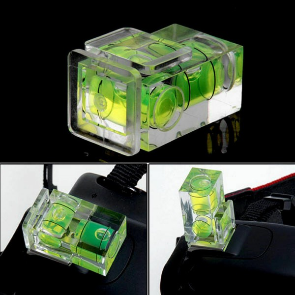 2-Achsen-Wasserwaage für DSLR Kamera
