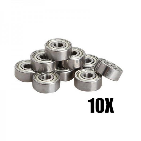 10x Miniature Radial Kugellager 3x10x4mm für RC Auto Praktische
