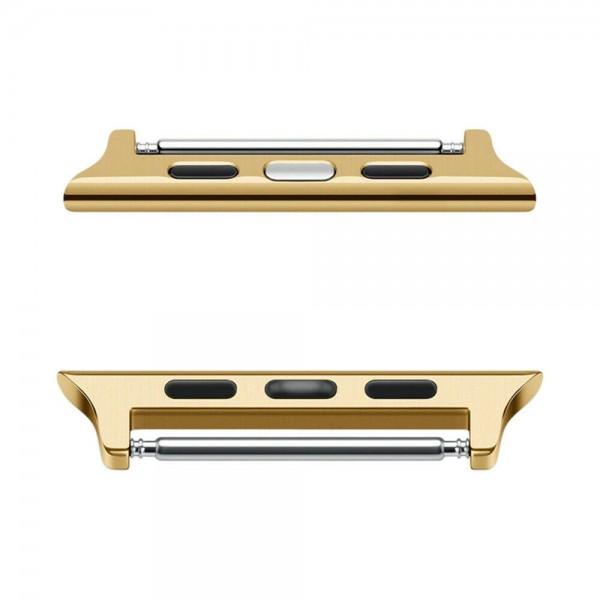 1 Paar für Apple Watch iWatch Edelstahl Armband Band Connector Adapter Schnalle