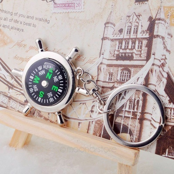 Kompass als Schlüsselanhänger