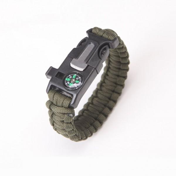 Survival Paracord Armband mit Multitool