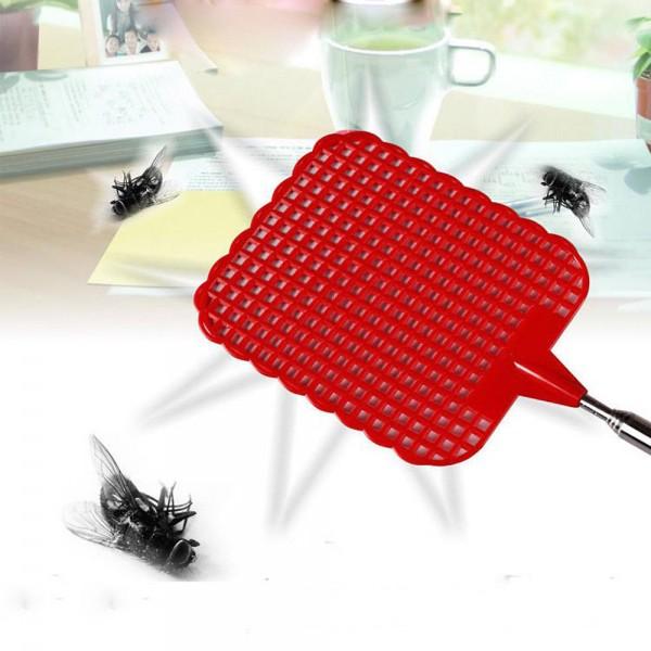 73 cm Telescopic Extendable Fliegenklatsche Verhindern Pest Mosquito-Tool Plastic