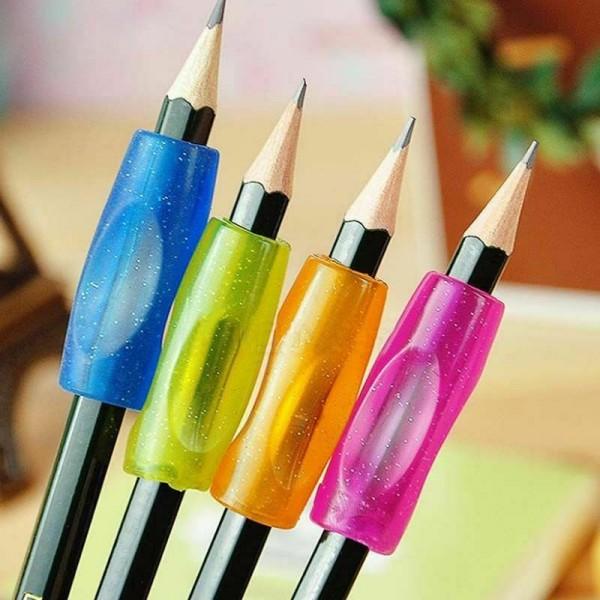 4x Schreibhilfe für Rechts- und Linkshänder Bleistift-Griff
