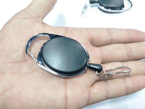 Metall Schlüsselband Kartenausweishalter