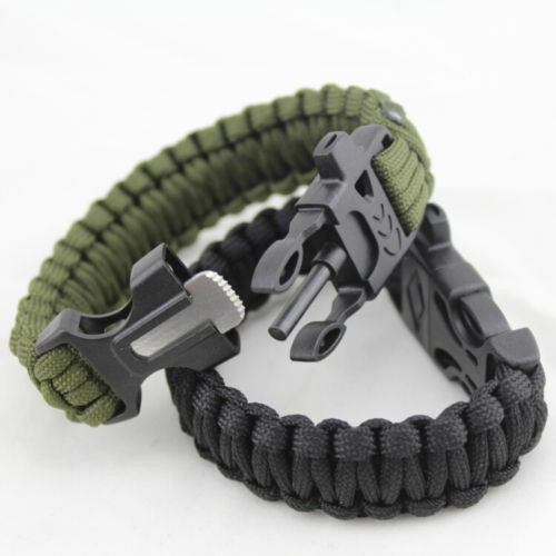 Survival Paracord Armband mit Multitool
