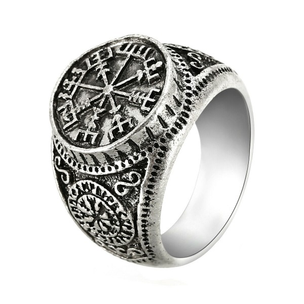 Wikinger Kompass als Ring