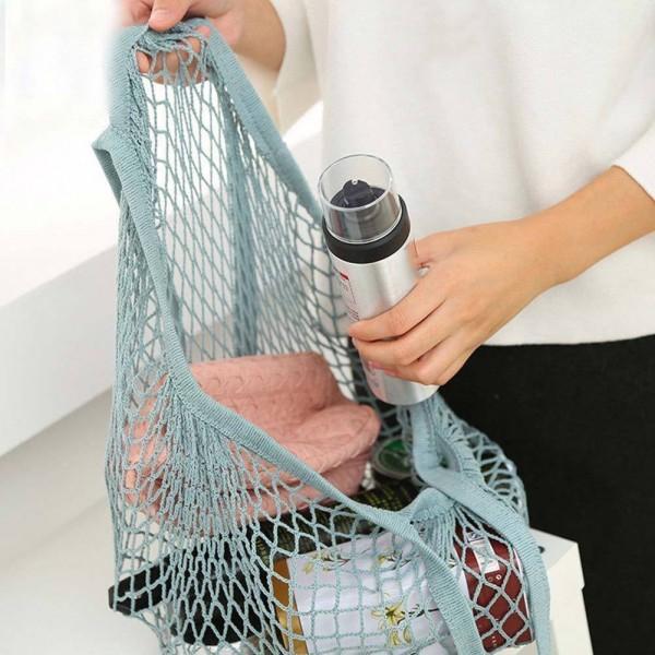 Einkaufsnetz als Shoppingtasche