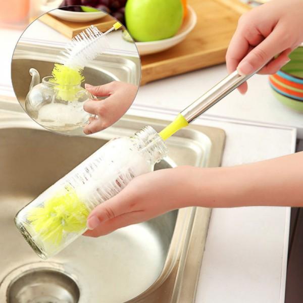 Flaschenbecher Reinigungsbürste Bürste Topfbürste Schrubber Küchenhelfer