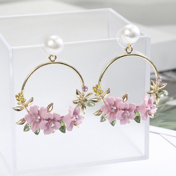 Blumen Ohrringe für Frauen als Schmuck