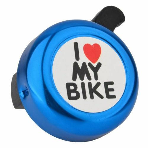 Fahrradklingel für Kinder Fahrrad Radfahren Griffstange Alarm Klingel Blau