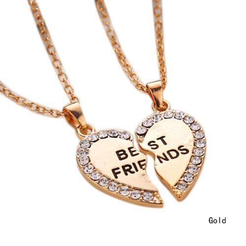 Bester Freund - Herz gebrochen Halskette