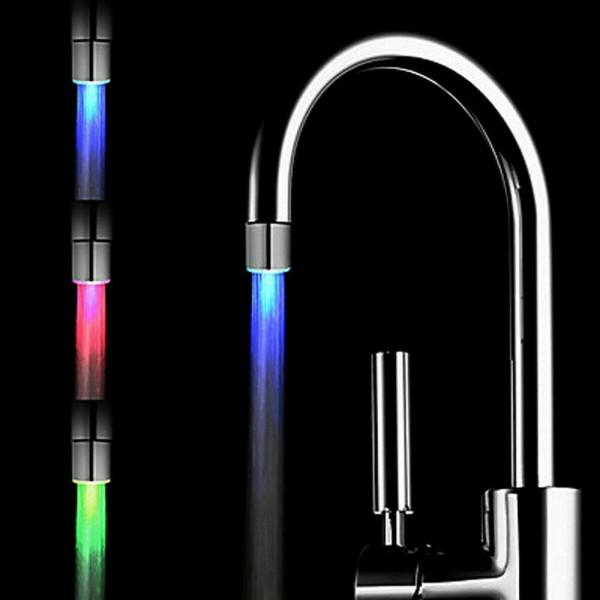 LED Wasserhahn Aufsatz für Küche & Bad