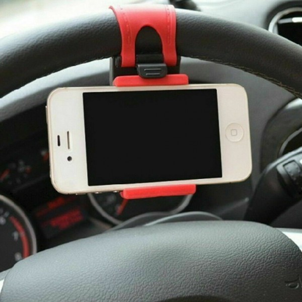 Universal Smartphone Halterung für Auto-Lenkrad