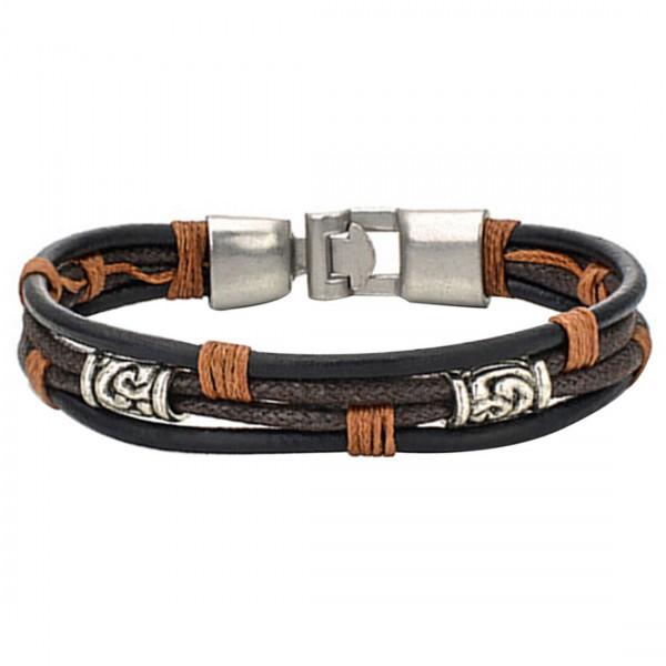 Armband für Damen und Herren in Braun