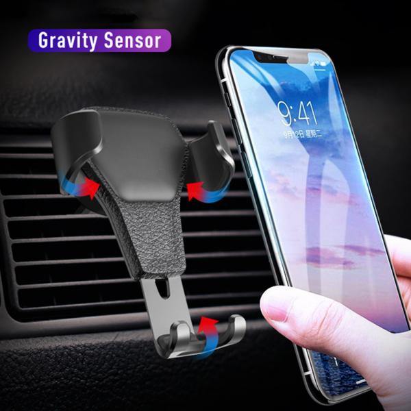 Schwerkraft KFZ Auto Handy Halterung Lüftung Halter für Smartphone GPS iPhone