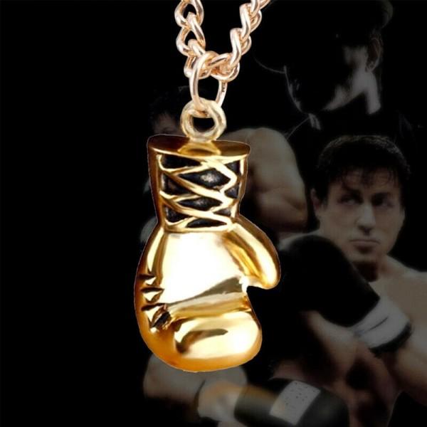 Boxhandschuh als Halskette für Herren