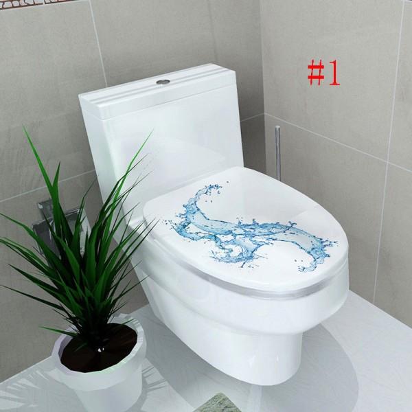WC Klodeckel Aufkleber für Badezimmer